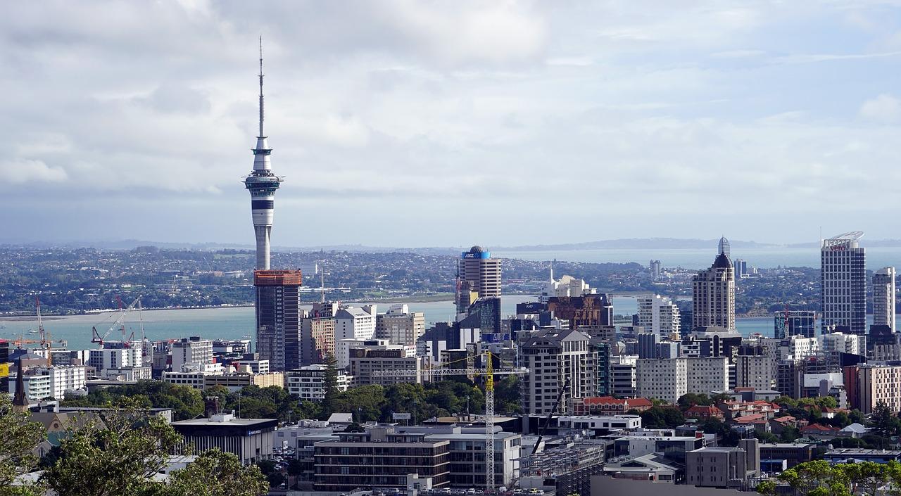 Centre ville d'Auckland