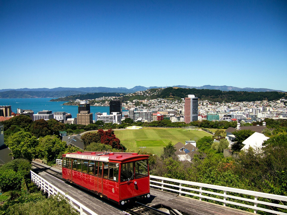 Cable car de Wellington