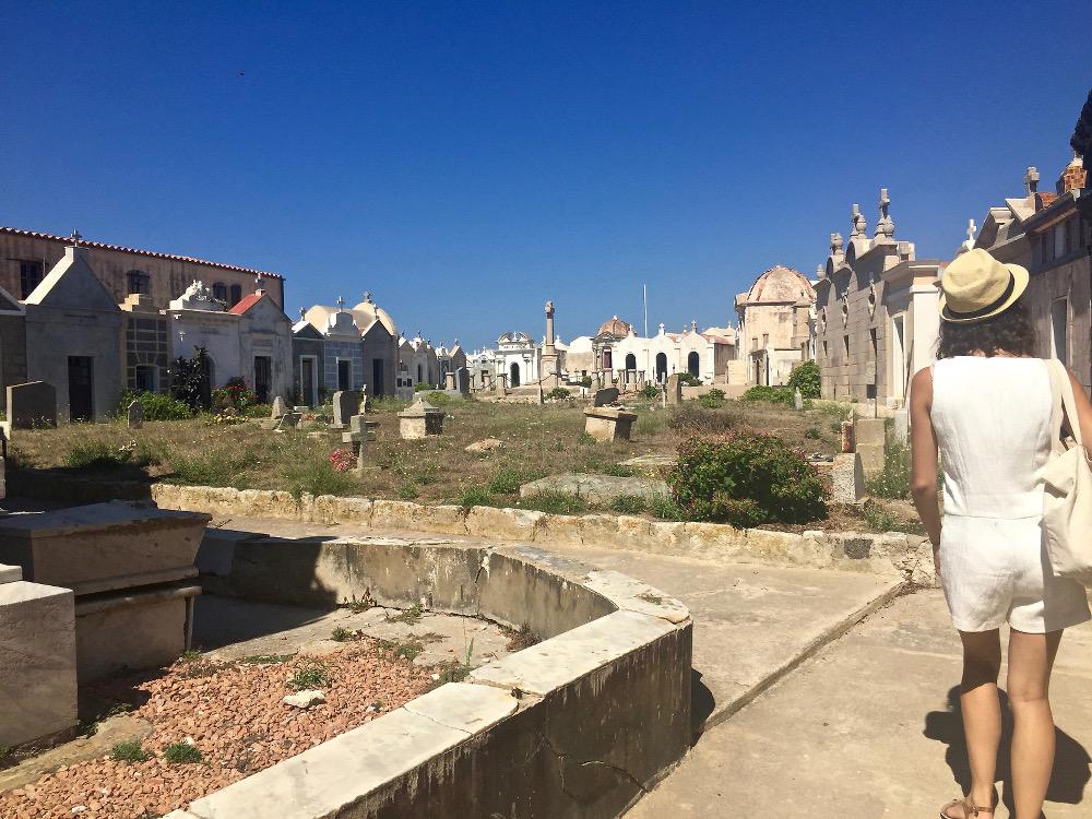 Cimetière Marin de Bonifacio en Corse