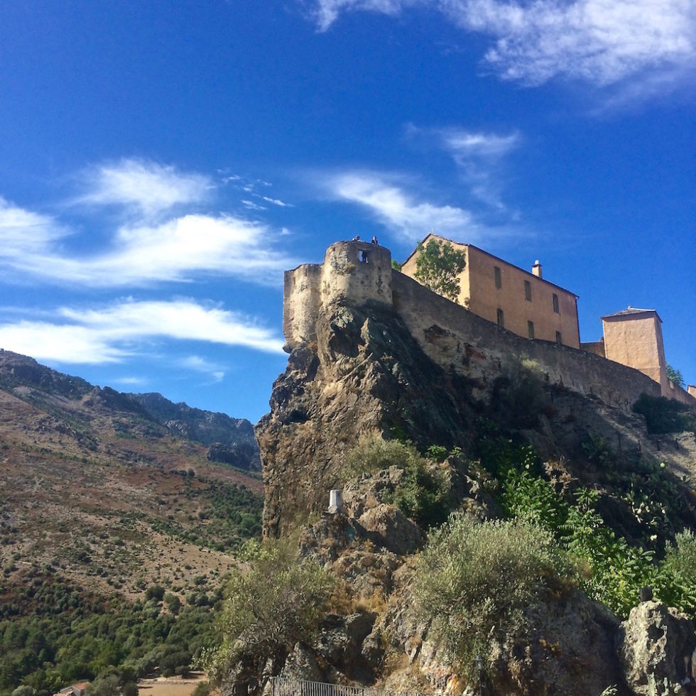 Que faire à Corte : citadelle, vallée de la Restonica...