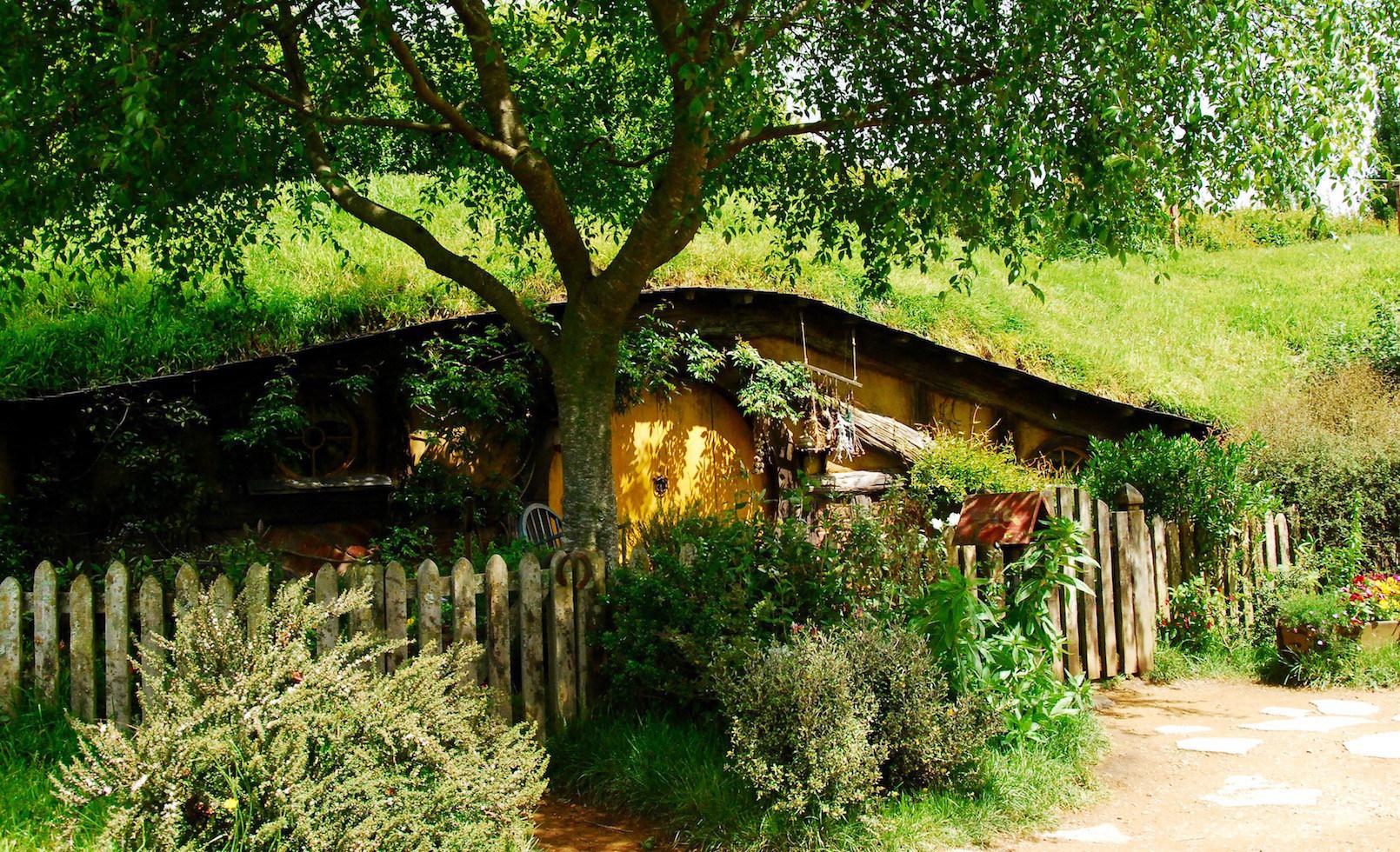Hobbiton The Shire Movie Set