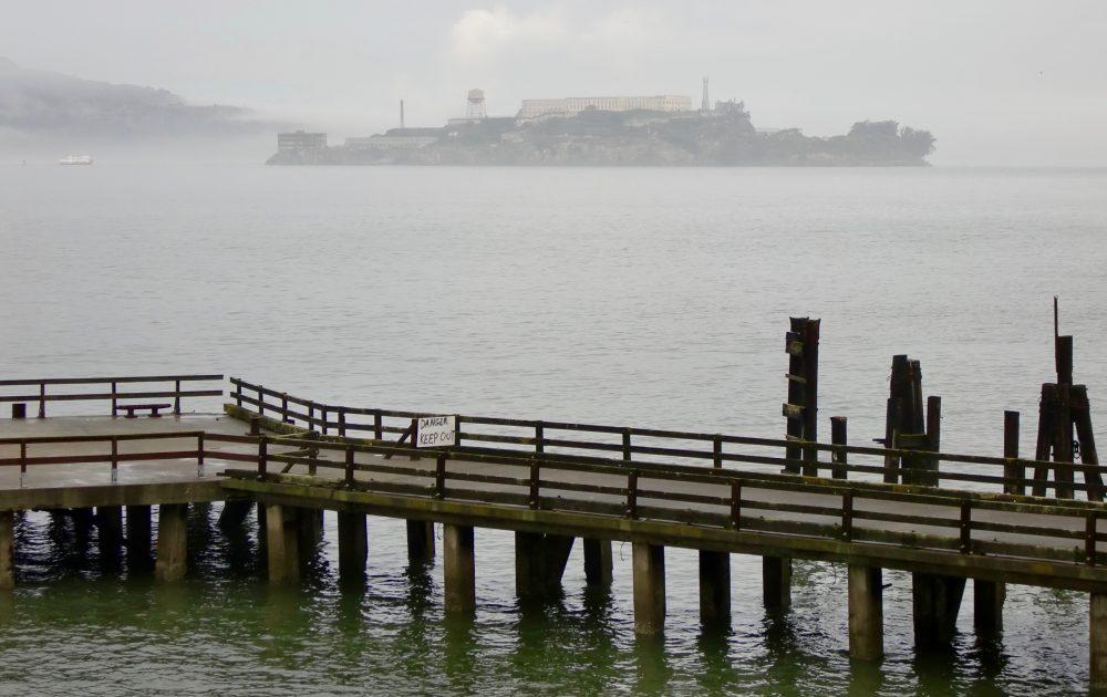 The rocks, l'île de la prison d'Alacatraz