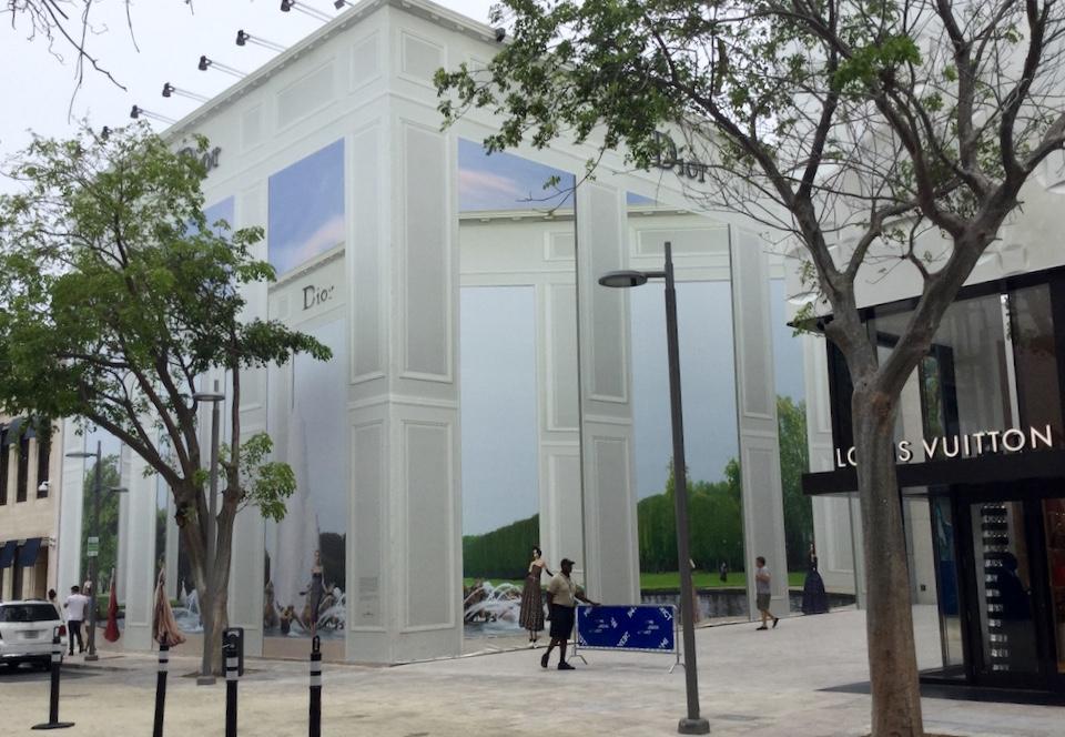 Design district Miami shops Dior
