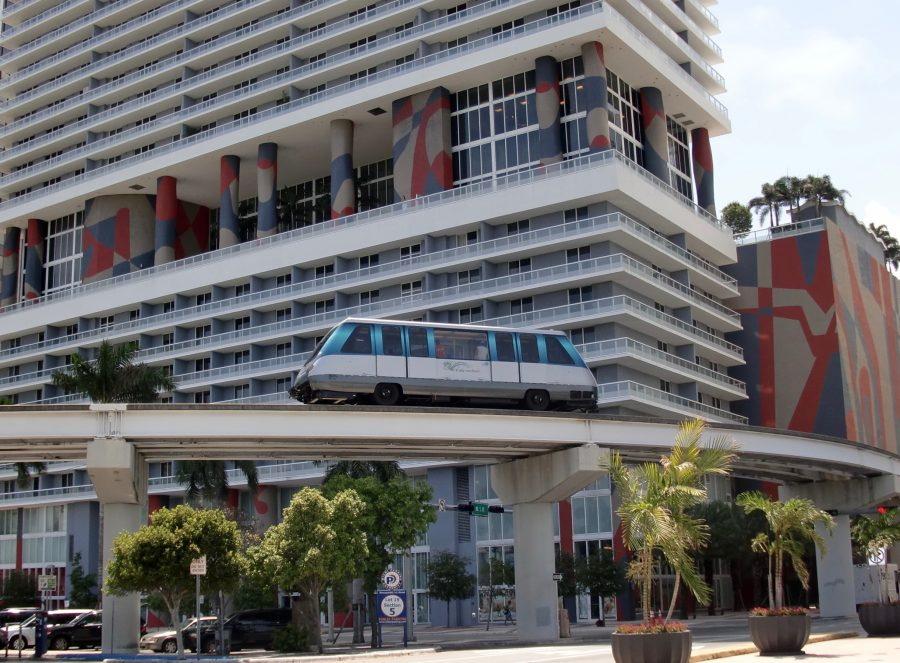 Metromover Miami Downtown