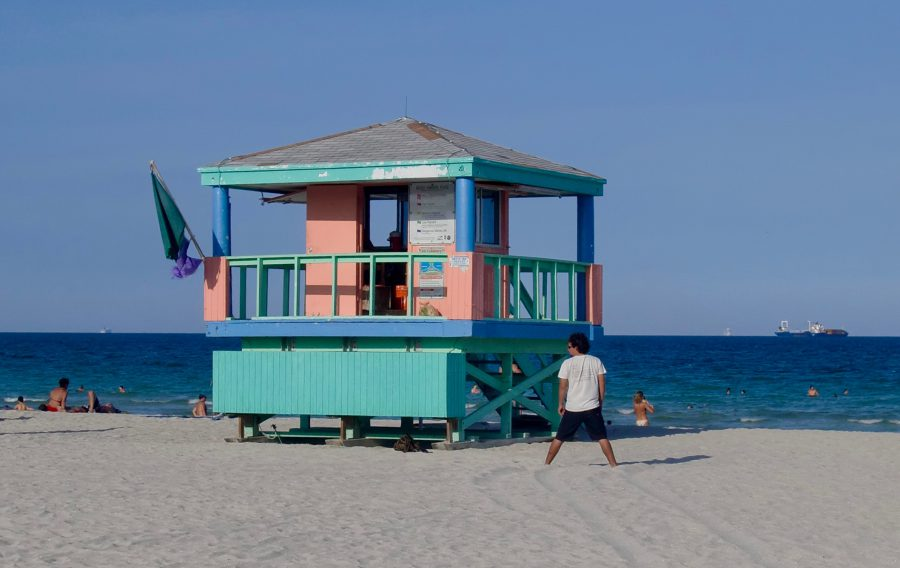 Lifeguard Tower Miami Beach