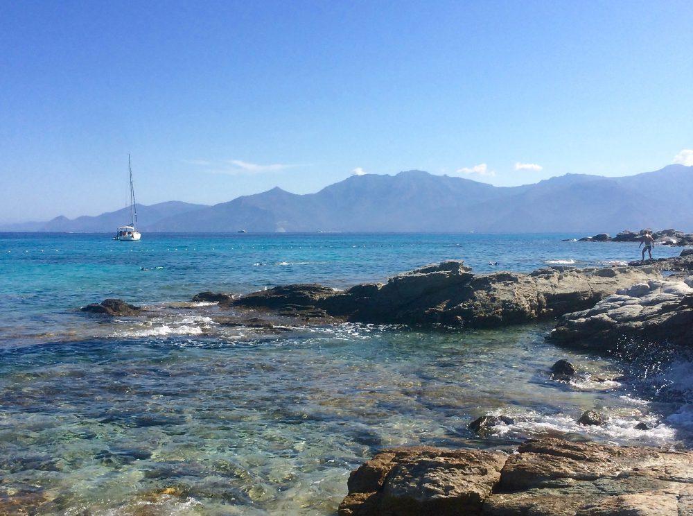 Plage du Lotu, en Corse