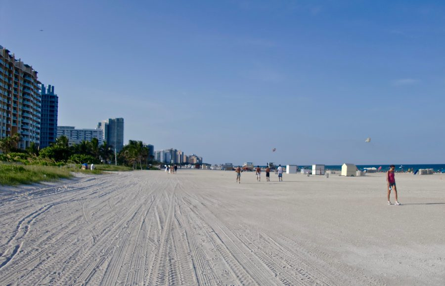 Plage de South Beach Miami