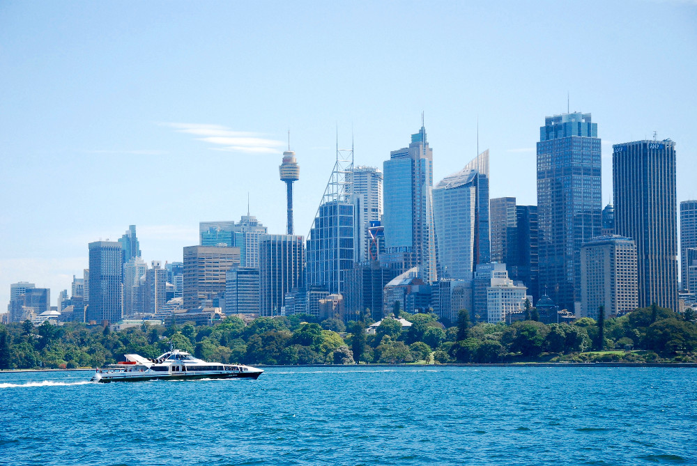 Sydney vue du ferry