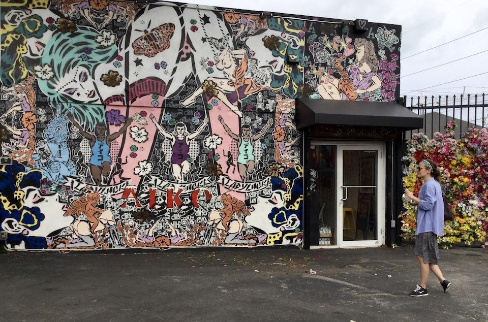 Design District Miami street art