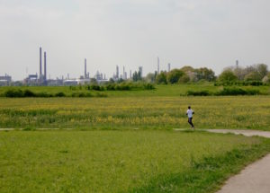 Running à Leverkusen