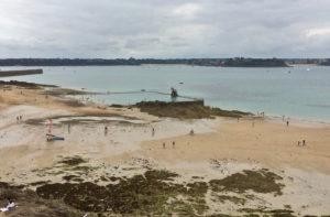 Plage de Bon Secours de Saint-Malo