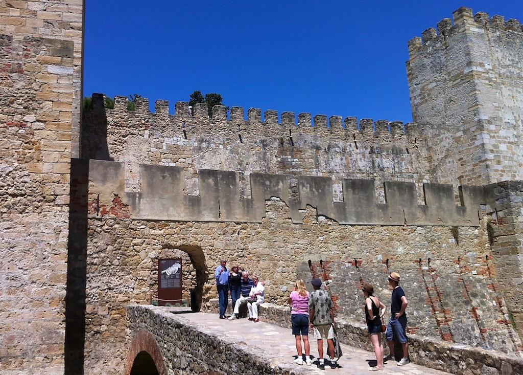 Chateau de Saint George à Lisbonne