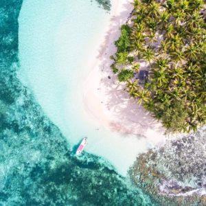 Kayak vue d'un drône par @cloetclem