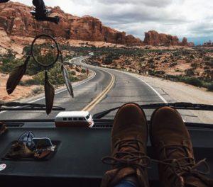 Paysage Instagram Road trip