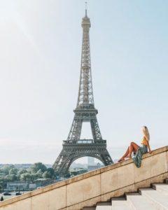 Tour Eiffel Paris sur instagram