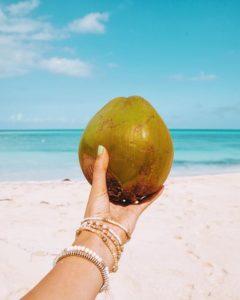 Noix de coco sur instagram
