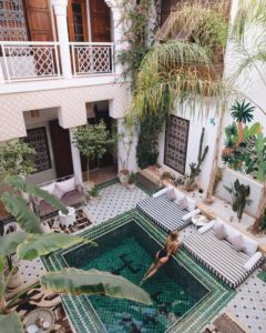 Riad Yasmine Marrakesh instagram