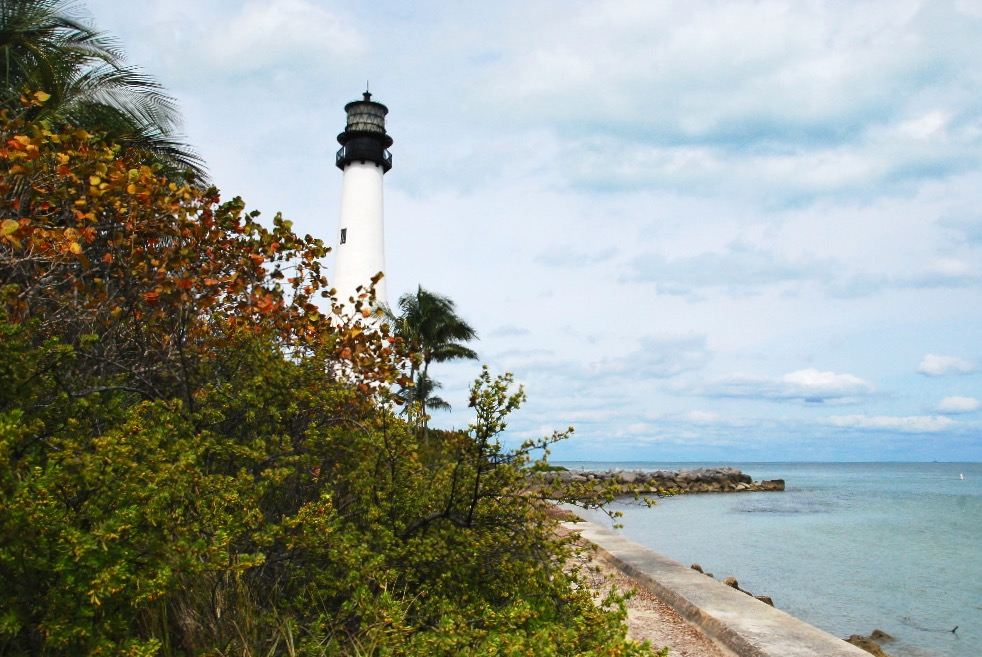 Phare de Bill Baggs Cape Florida State Park à Key Biscayne