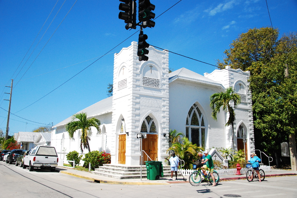 Eglise de Key West dans les Keys
