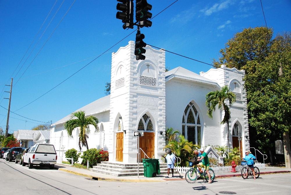 Eglise de Key West dans les Keys