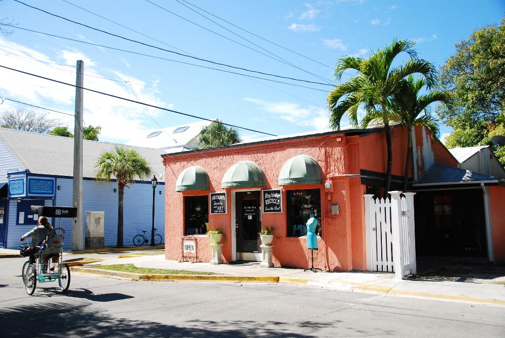 Magasins à Key West dans les Keys