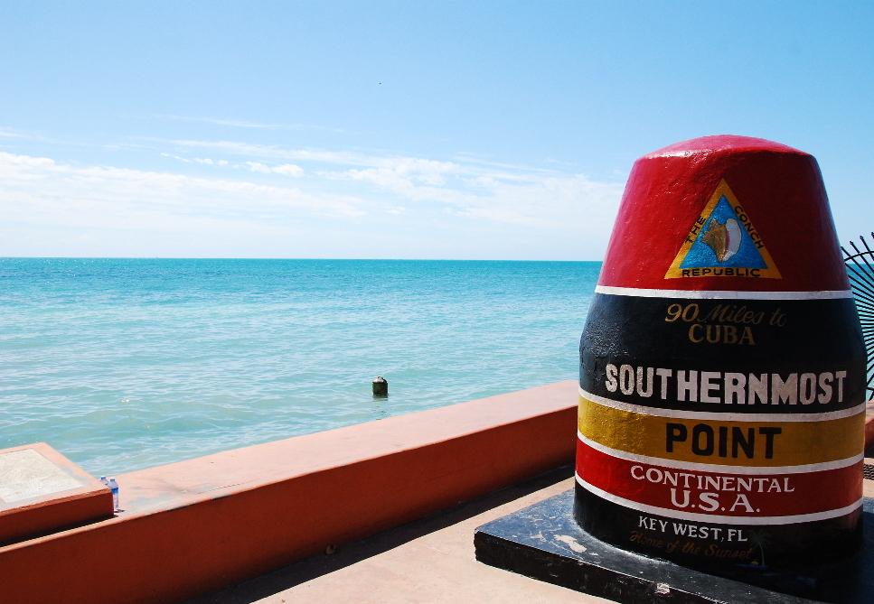 Mile Marker 0 à Key West