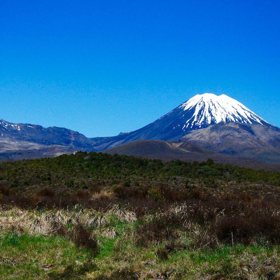 Mont Ruapehu Nouvelle-Zélande