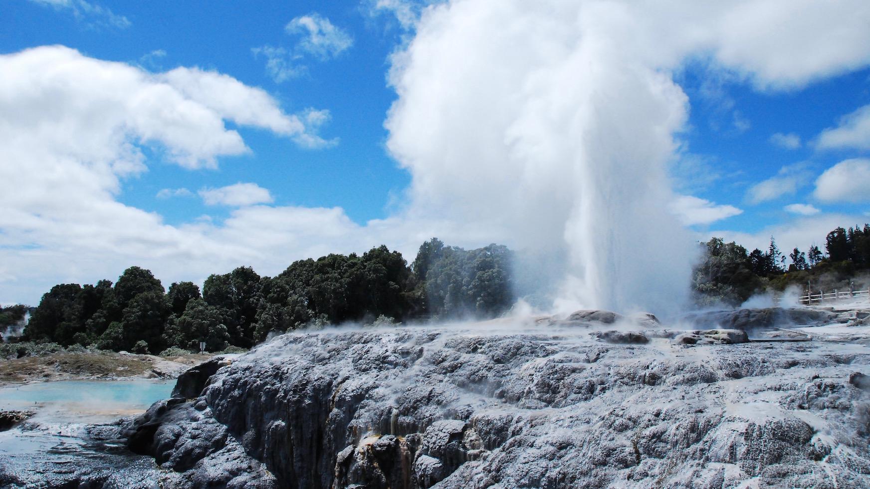 Site géothermique de Rotorua
