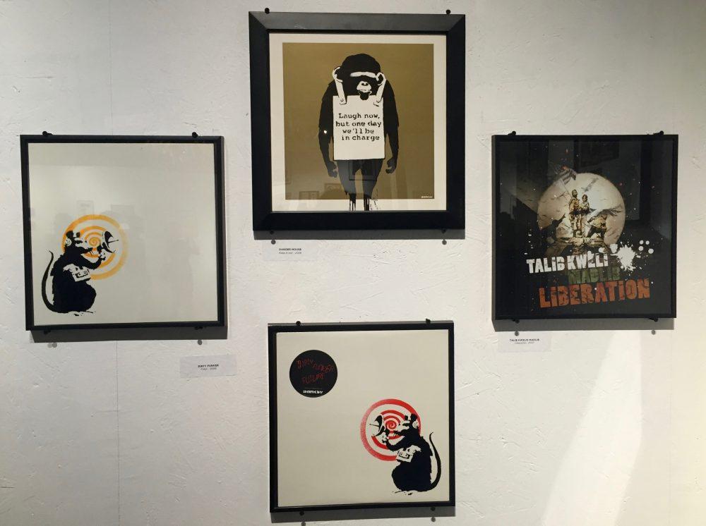 Exposition Banksy La Réserve Malakoff