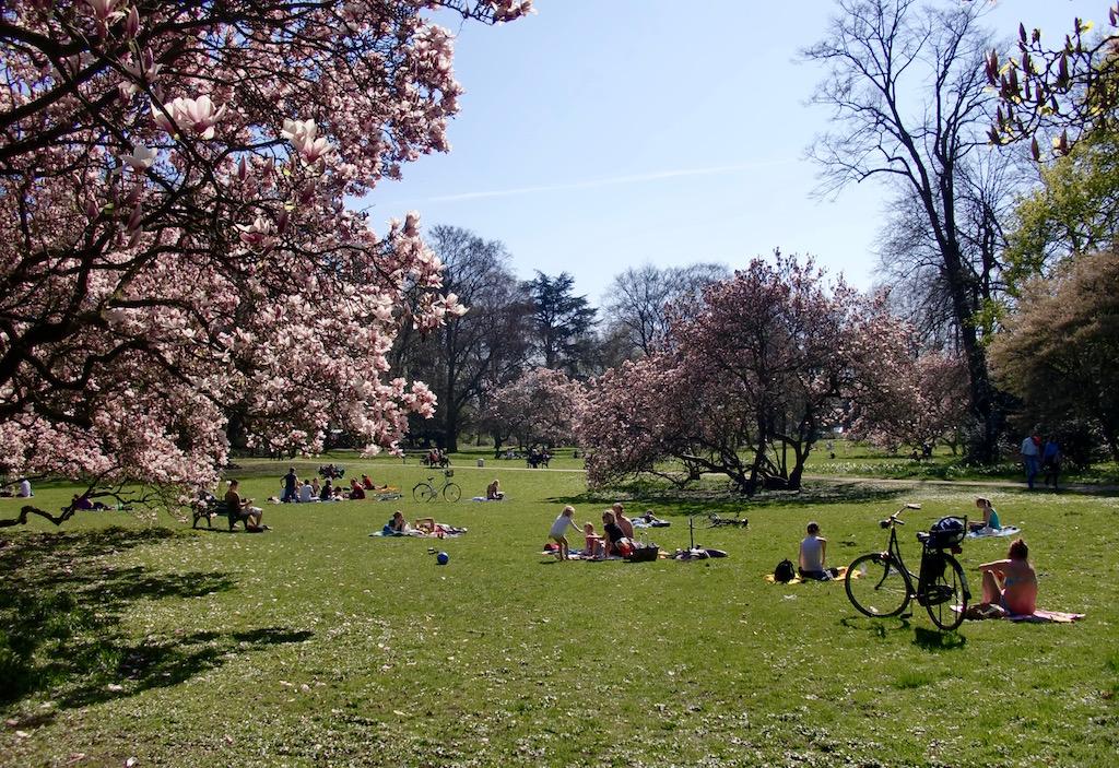 Le parc Volksgarten