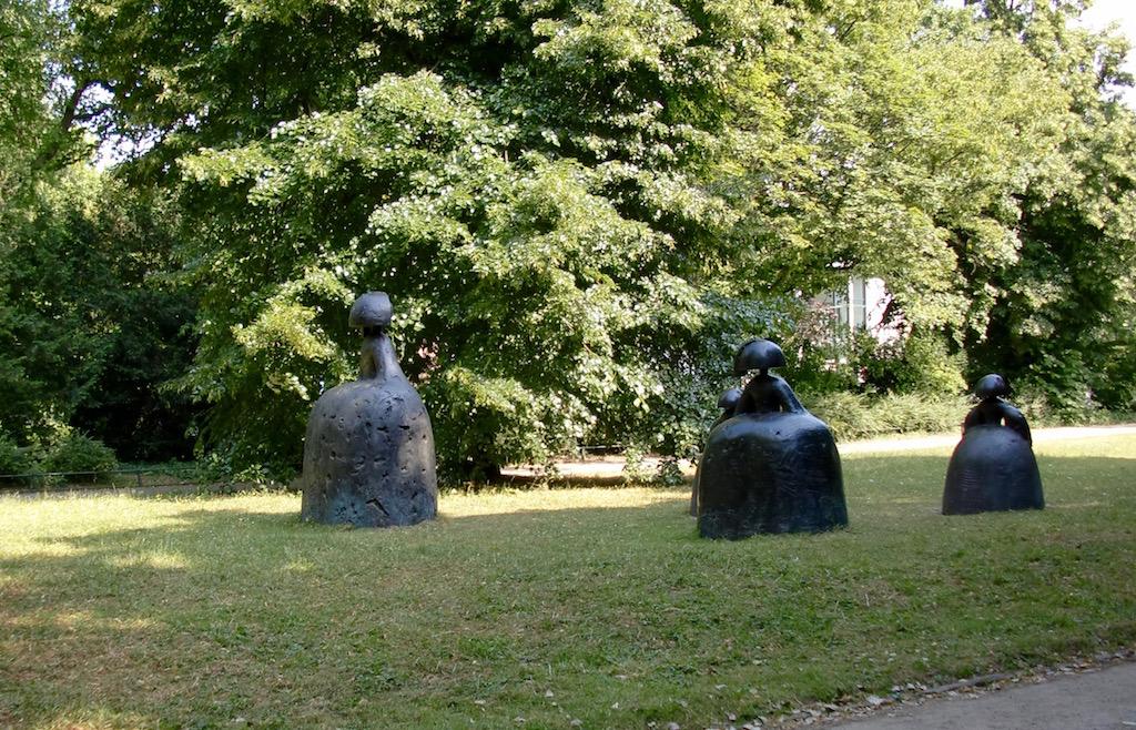 Sculptures du parc de Hofgarten