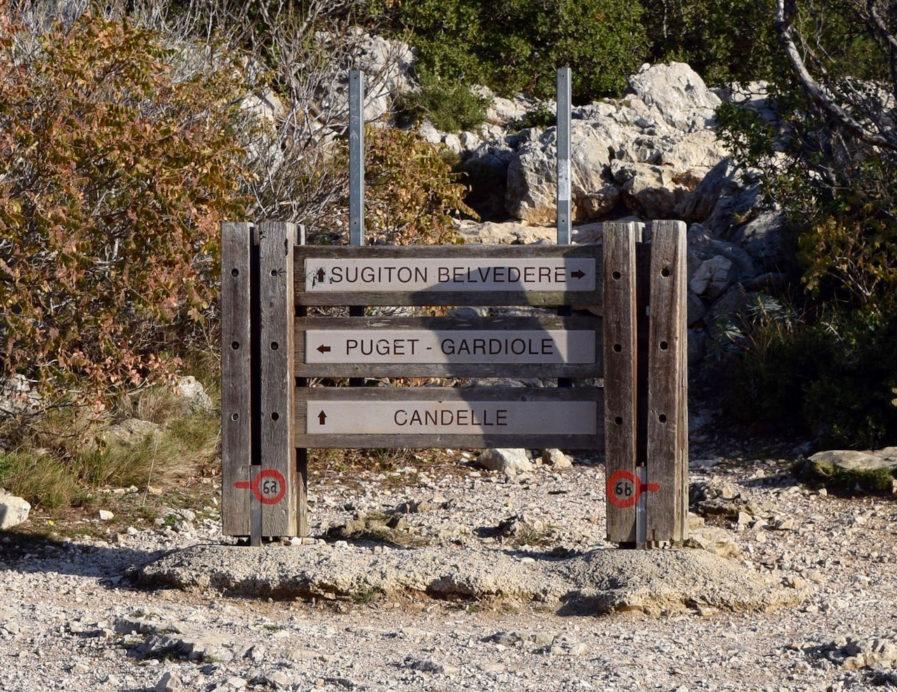 Panneaux indicatifs
