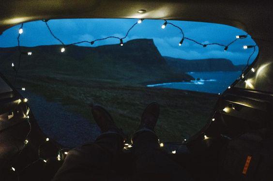 publication instagram camping dans un van
