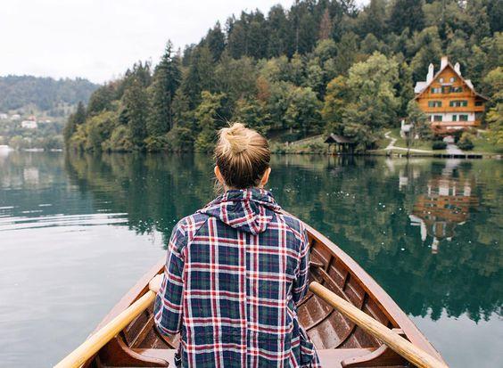 publication instagram populaire sur une barque