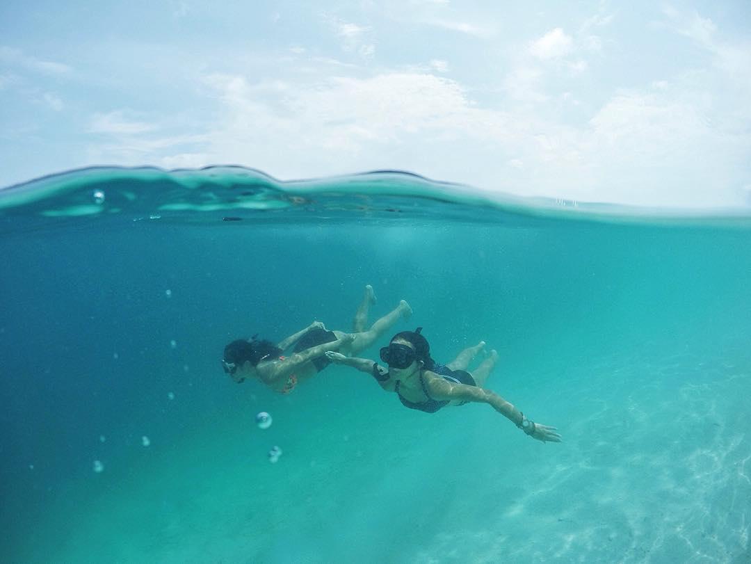@kadekarini nage sous l'eau