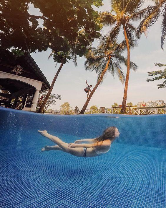 @polkadotpassport nage sous l'eau