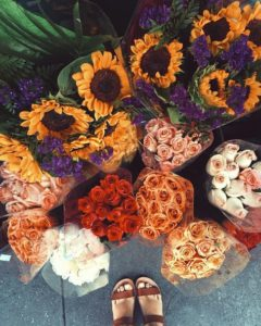 Bouquets de fleurs par @tuulavintage