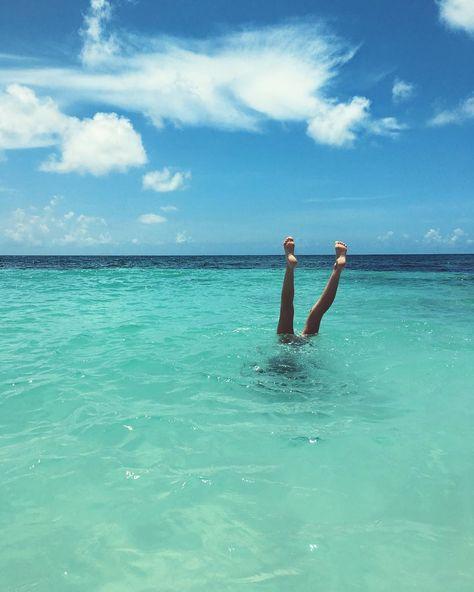 @tuulavintage dans l'eau