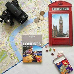 Préparation voyage publication instagram
