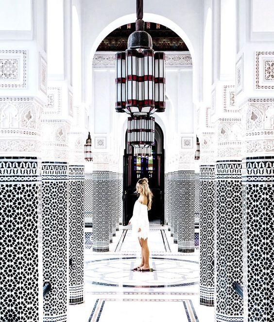 Hôtel La Mamounia instagram