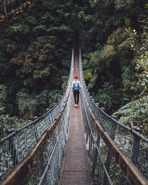 Pont suspendu sur instagram