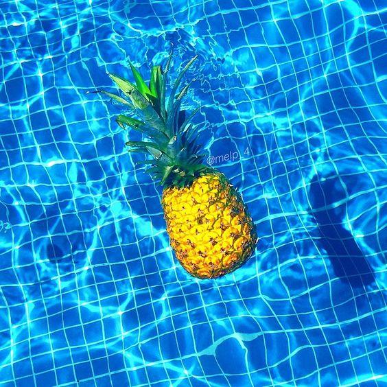Ananas sur instagram