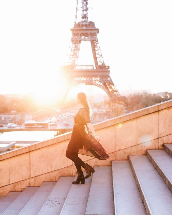 Tour Eiffel Paris sur instagram