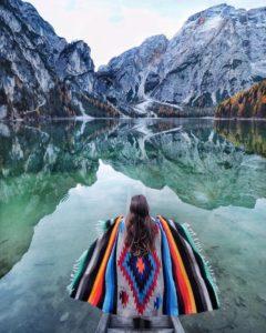 Poncho publication instagram voyage