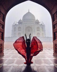 Robe longue instagram voyage