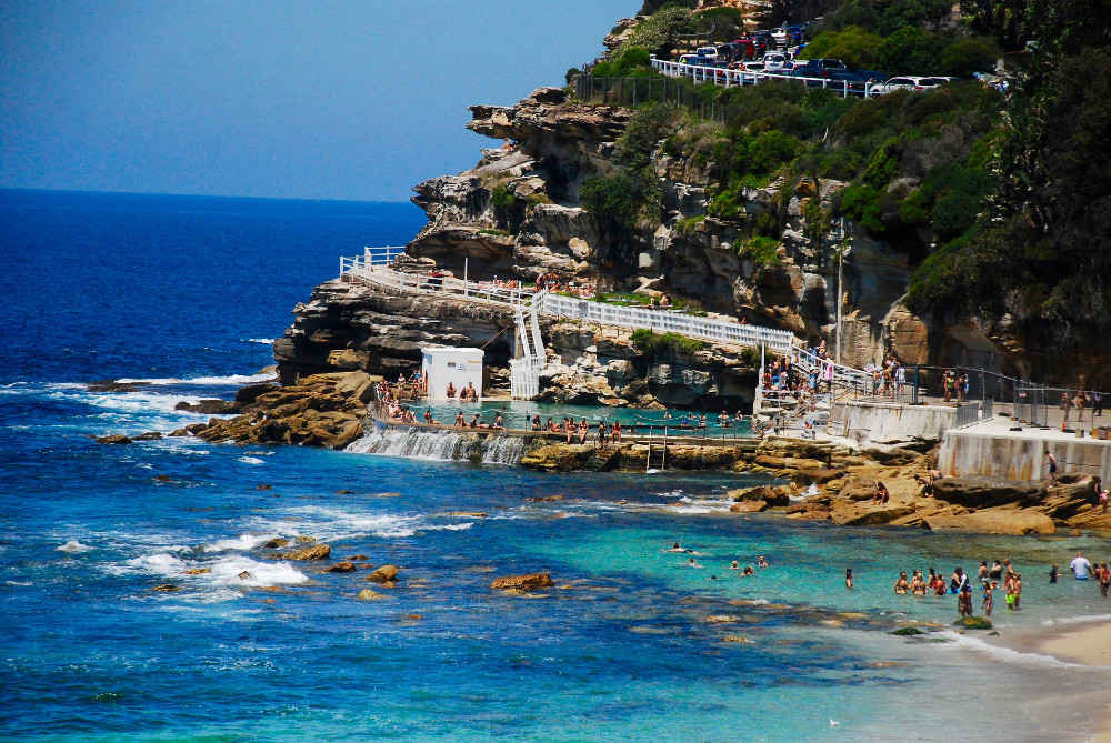 Piscine naturelle de Bronte Beach