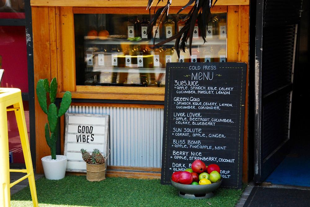 Bar à jus à Manly Wharf à Sydney
