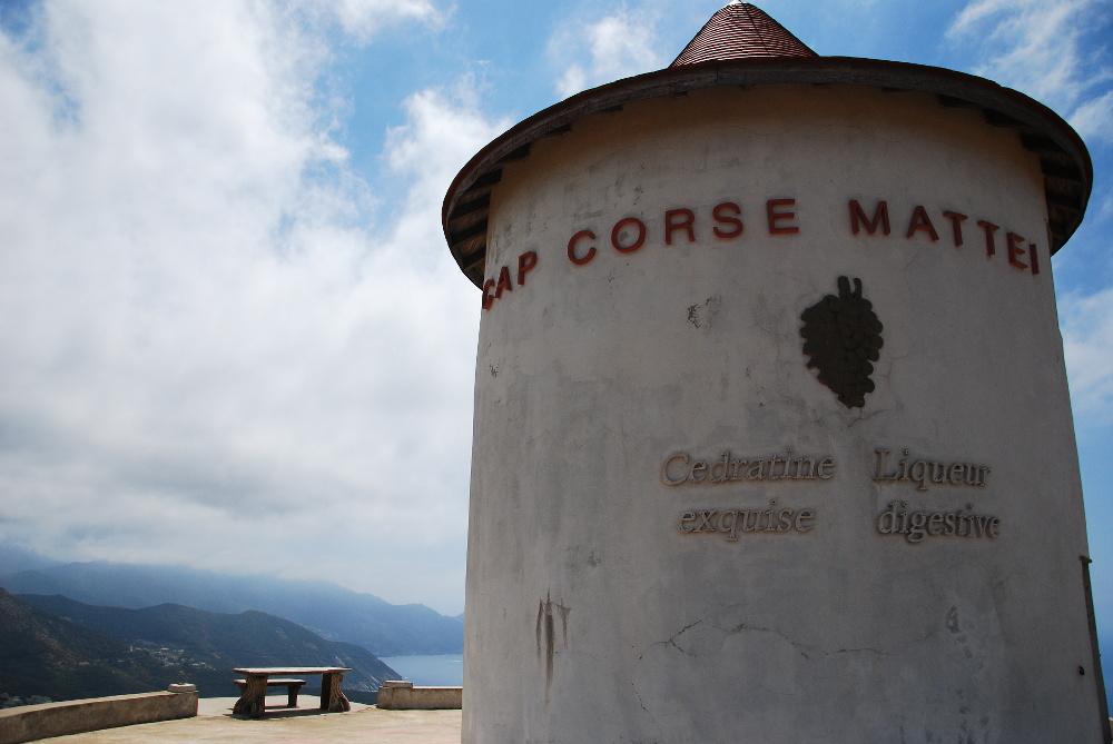 Moulin Mattei au col de Serra Cap Corse