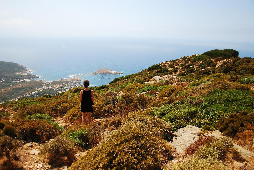 Vue du col de Serra Cap Corse