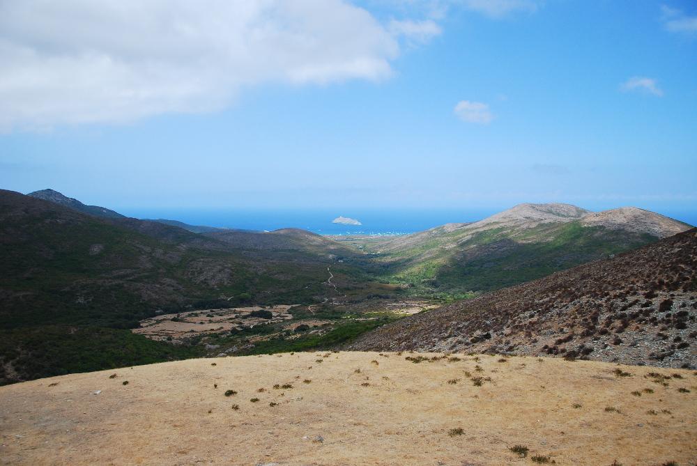 Vue pendant le tour du Cap Corse